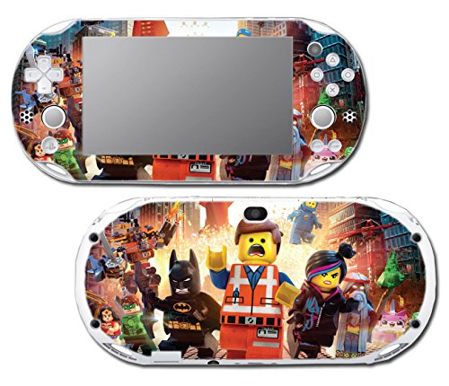 Emmet Batman Wyldstyle Movie Awesome Video Game Vinyl Decal Skin Sticker Cover for Sony Playstation Vita Slim 2000 Series System