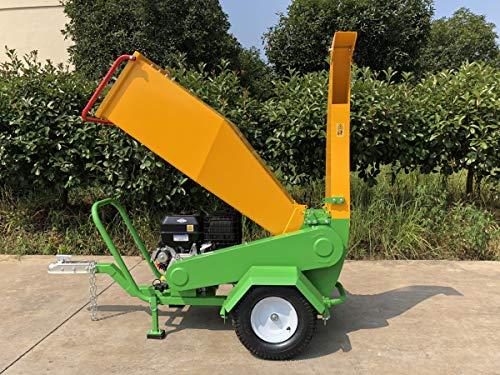 Nova Tractor Wood Chipper Shredder GTS1500, Driven by 420cc Briggs & Stratton Electric Starter Engine