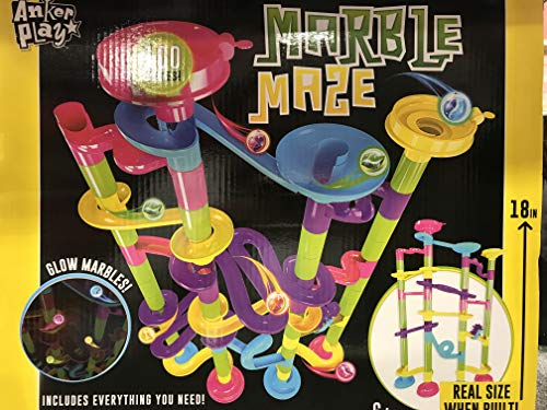 Anker Play Marble Maze Glow Marble 100 Pieces