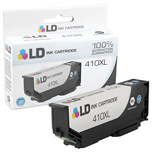 LD © Remanufactured Epson 410 / 410XL / T410XL120 High Yield Photo Black Ink Cartridge for use in Expression XP-530, Expression XP-630, Expression XP-635, Expression XP-640 & Expression XP-830