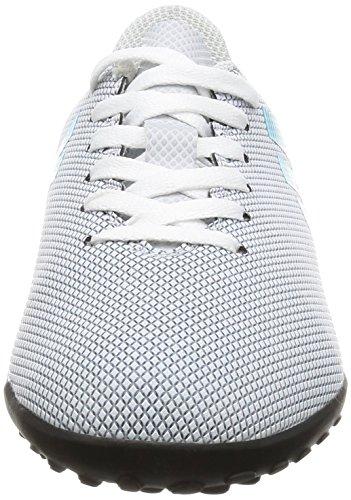 adidas X 17.4 TF J, Botas de Fútbol Unisex Niños Blanco (Ftwbla/Azuene/Gritra)