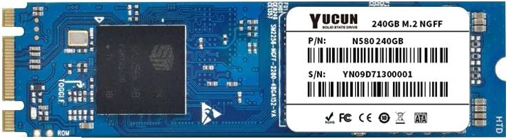 YUCUN M.2 2280 Disco Duro sólido Interno de Estado sólido 240GB ...