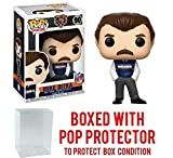 NFL Legends Mike Ditka Bears Coach Pop! Vinyl Figure and (Bundled with Pop BOX PROTECTOR CASE)