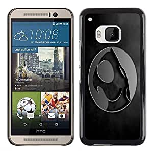 LECELL -- Funda protectora / Cubierta / Piel For HTC One M9 -- Crest --