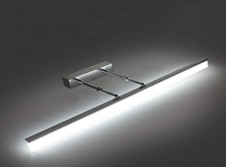 Lámpara de espejo Espejo LED Luz Delantera Iluminación de baño ...