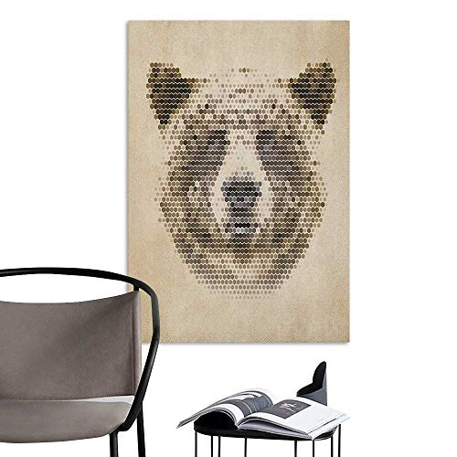 Stickers Wall Murals Decals Removable Bear Wild Animal