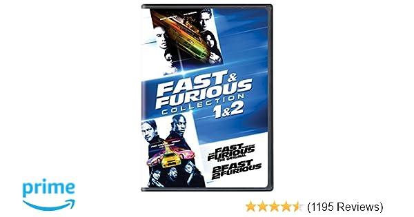 Amazon.com: Fast & Furious Collection: 1 & 2: Vin Diesel, Paul Walker, Tyrese Gibson, Michelle Rodriguez, Eva Mendes, Jordana Brewster, Chris Ludacris ...