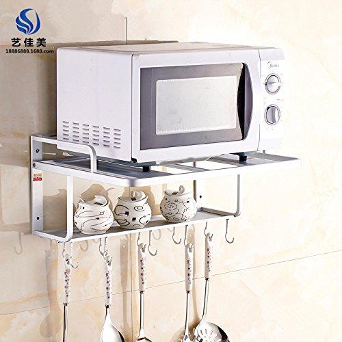 SYDLJ Toalla barringrack aluminio espacio dual-cocina horno ...