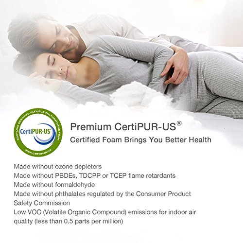 TAMPOR Memory Foam Pillow Premium Bed Pillows for Neck Support Hypoallergenic Neck Pillow for Sleeping with Removable Pillow Cover, for Back & Side Sleepers, Standard by TAMPOR (Image #6)