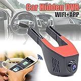 170° 1080P WiFi Hidden Car DVR Camera Recorder G-Sensor Security