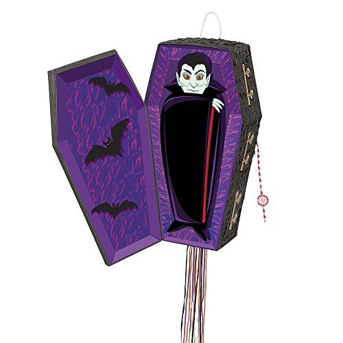 Vampire Coffin Pinata, Pull String -