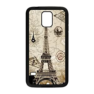 DIY Printed Eiffel Tower hard plastic case skin cover For Samsung Galaxy S5 SN9V892841