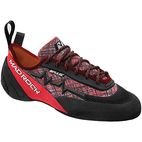 Mad Rock Pulse Negative Climbing Shoe Red/Black, 11.5