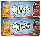 9 Lives Sliced Beef Gravy, 4.0 Count (Pack of 6)