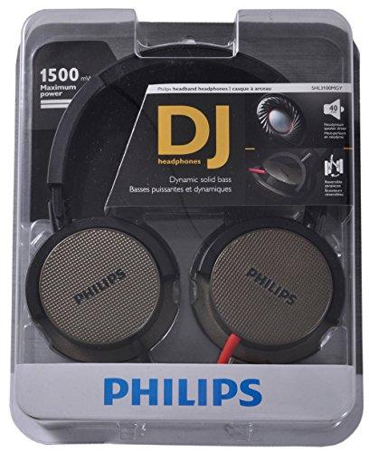 Mp3 Dj Ipod Headphones (Philips DJ Headphone Power Bass Headset iPod MP3 Authentic)
