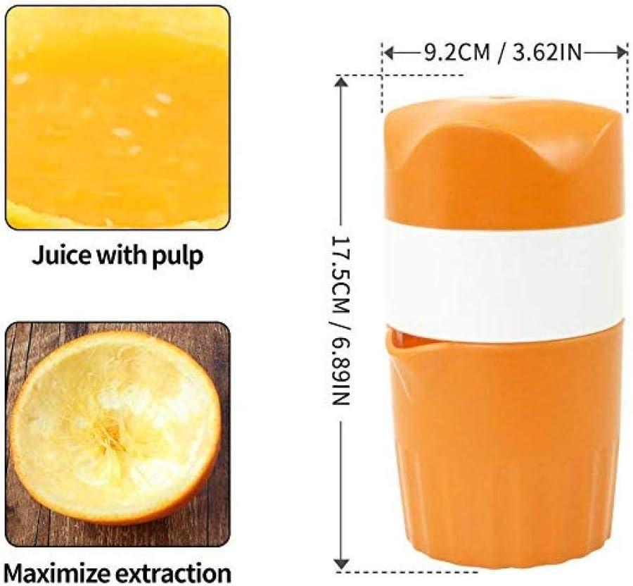 Exprimidor manual de cítricos portátil de 300 ml para exprimidor ...