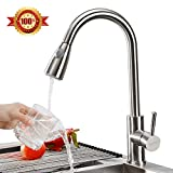 Triple Tree Stainless Steel Kitchen Faucet Pull Down Kitchen Sink Faucet Healthy Food Grade Material