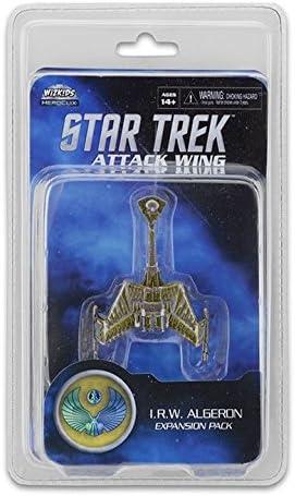 Star Trek Attack Wing I.R.W. Algeron Expansion Miniatures Game Wave 24 English: Amazon.es: Juguetes y juegos