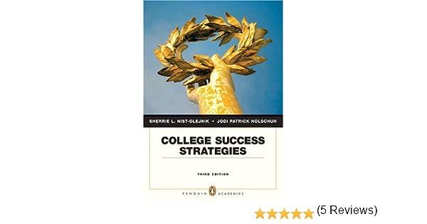 Amazon.com: College Success Strategies (3rd Edition ...