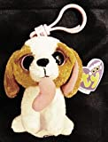 Ty's VERY RARE and Retired COOKIE the DOG with Heart No Poem/No Birthday'No Name on Tush Tag-Made in Italy Collector's Beanie Boo Ty Field Rep Sample #36057 CLIP-NEW