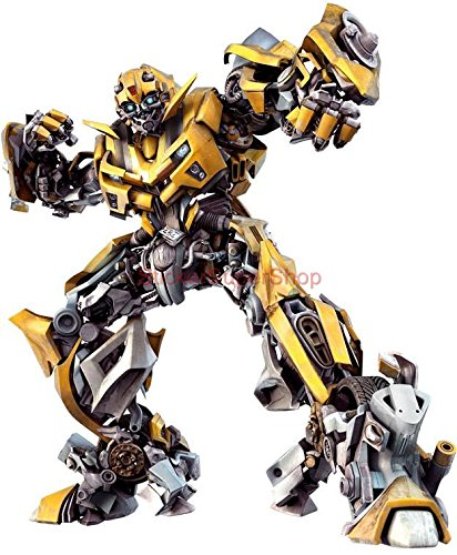 (BUMBLEBEE Transformers Autobots Decal WALL STICKER Decor Art C532, Large)