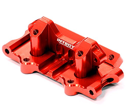Integy Hobby RC Model T8641RED Billet Machined T3 Front Bulk