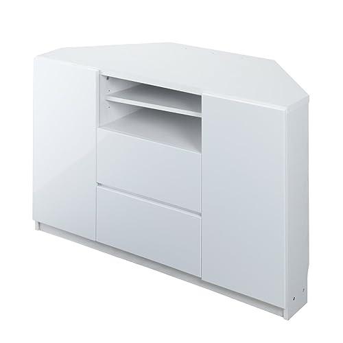 IKEAのLAPPLAND(ラップランド)は、お好みに合わせて棚板を左右どちらにも配置できるテレビ収納ユニット(ハイタイプテレビ台)。バックパネルがないのでコード類を楽に整理できるのが特徴だ。Blu-rayプレイヤーなどの収納に便利なオープンタイプのコンパートメントが2つあるのもポイント。インテリアとしておしゃれで収納力も優れているコスパの高いテレビ台だ。