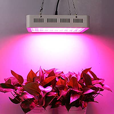 1200/1000/600W LED Grow Light Full Spectrum IR UV Veg Flower Indoor Plant Panel