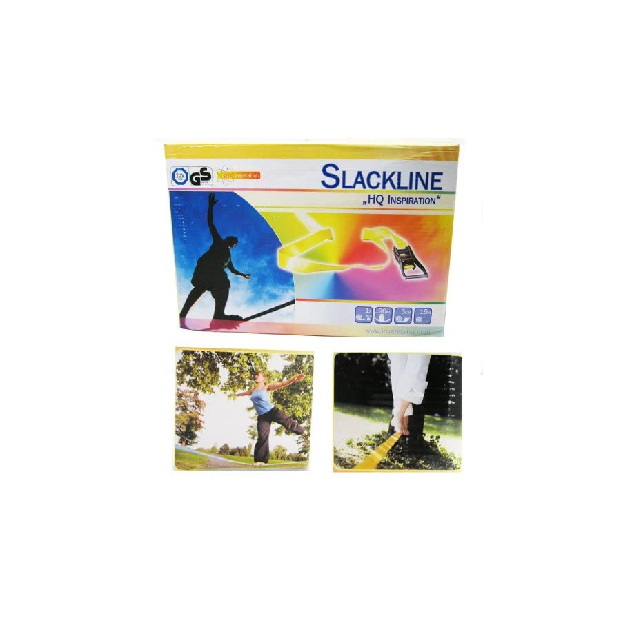 Classic Slackline Walking Rope 15 Meter/49 Feet 15M Tightrope Funline + Bag NEW