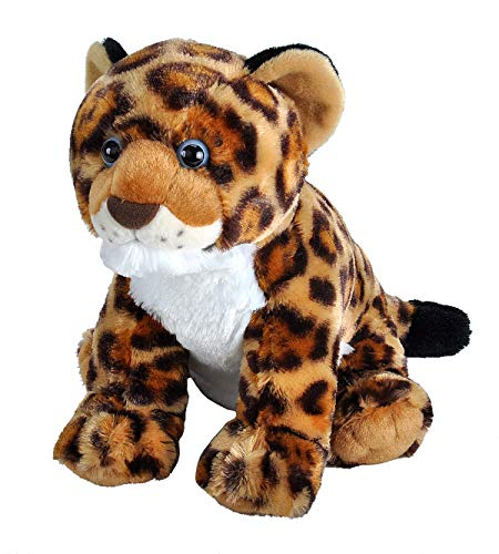 Wild Republic Jaguar Cub Plush, Stuffed Animal, Plush Toy, Gifts for Kids, Cuddlekins 12 Inches