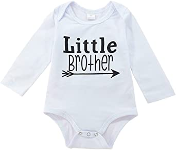 Little Brother Infant Long Sleeve Bodysuit