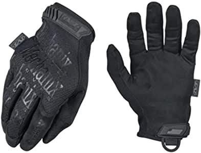 Mechanix Wear - Original 0.5mm High Dexterity Covert Tactical Gloves (Small, Black)