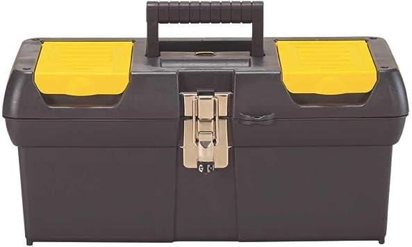 Stanley 016013R - Caja de herramientas con bandeja (40,6 cm ...