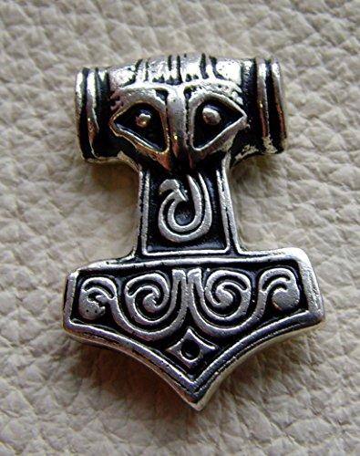 Gürteltasche Thors Hammer klein Mjölnier Leder Farbe hell braun
