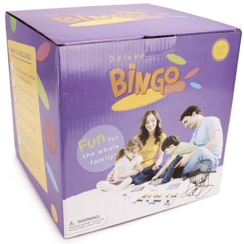 Jumbo Size Complete Bingo Game Set - Includes 100 Bonus Chips! by RBS