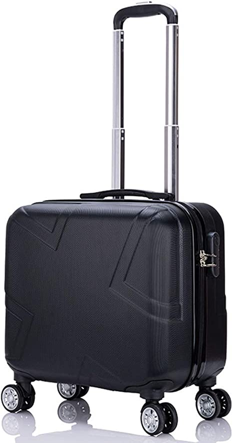Or Rose cabine Case Valise Bagage Main 4 roues spinner Compagnie aérienne a Approuvé Taille