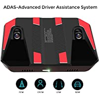 ADAS-Advanced Driver Assistance System with Forward Collision Warning, Lane Departure Warning, Pedestrian Collision Warning Dual Lens Ultra-HD Camera Smarter Eye for Car, Sedan or SUV