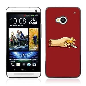 YOYOSHOP [Funny Zombie Foortune Cookie] HTC One M7 Case