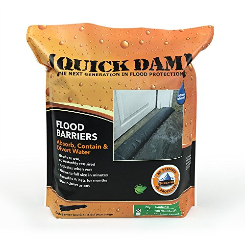 Quick Dam Water Activated Flood Barrier 10 feet, 1-Pack by Quick Dam (Image #1)