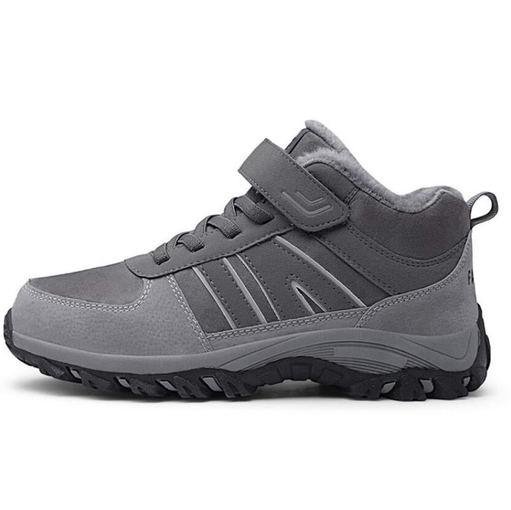 355779089a0a7 Amazon.com: FGSJEJ Men's Hiking Shoes Outdoor Climbing Snow Boots ...