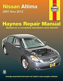 nissan altima 1993 thru 2006 haynes repair manual john h haynes rh amazon com 2012 Nissan Altima Owner's Manual 1995 Nissan Altima