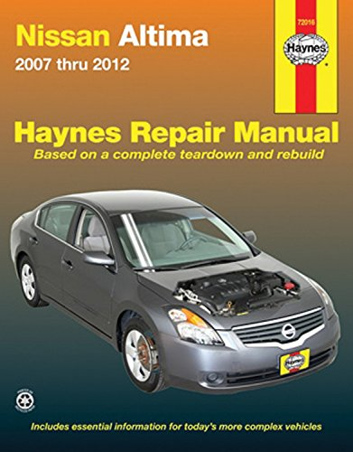 Nissan Altima 2007 - 2012 Repair Manual (Haynes Repair - Repairs Car