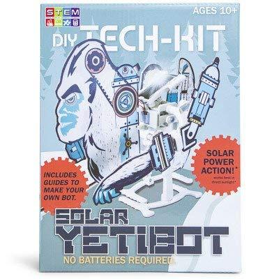 DIY Tech Kit Solar YetiBot: Toys & Games