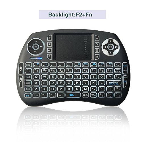 Backlight Wireless Keyboard Touchpad Rechargable product image
