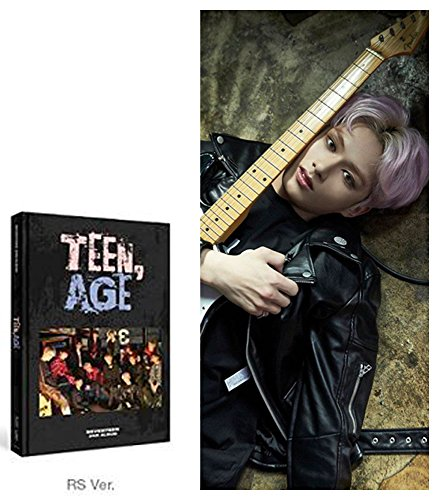 Price comparison product image Teen AGE [RS Ver.] 2nd Album SEVENTEEN CD + Photo book + Photo Card + Folding Poster + Name Sticker + Portrait Desktop Stand