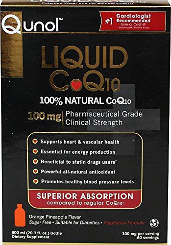 Qunol Ultra High Absorption All Natural Liquid CoQ10