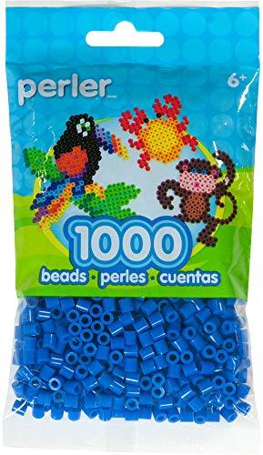 (Perler 80-15200 Fuse Beads for Crafts, 1000pcs, Cobalt Blue)
