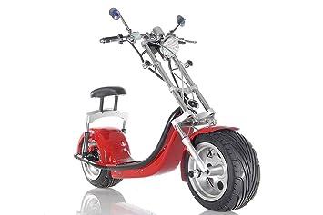 Apollo E-life Style Patín Eléctrico Coffe Rider (Rojo, Nuevo ...