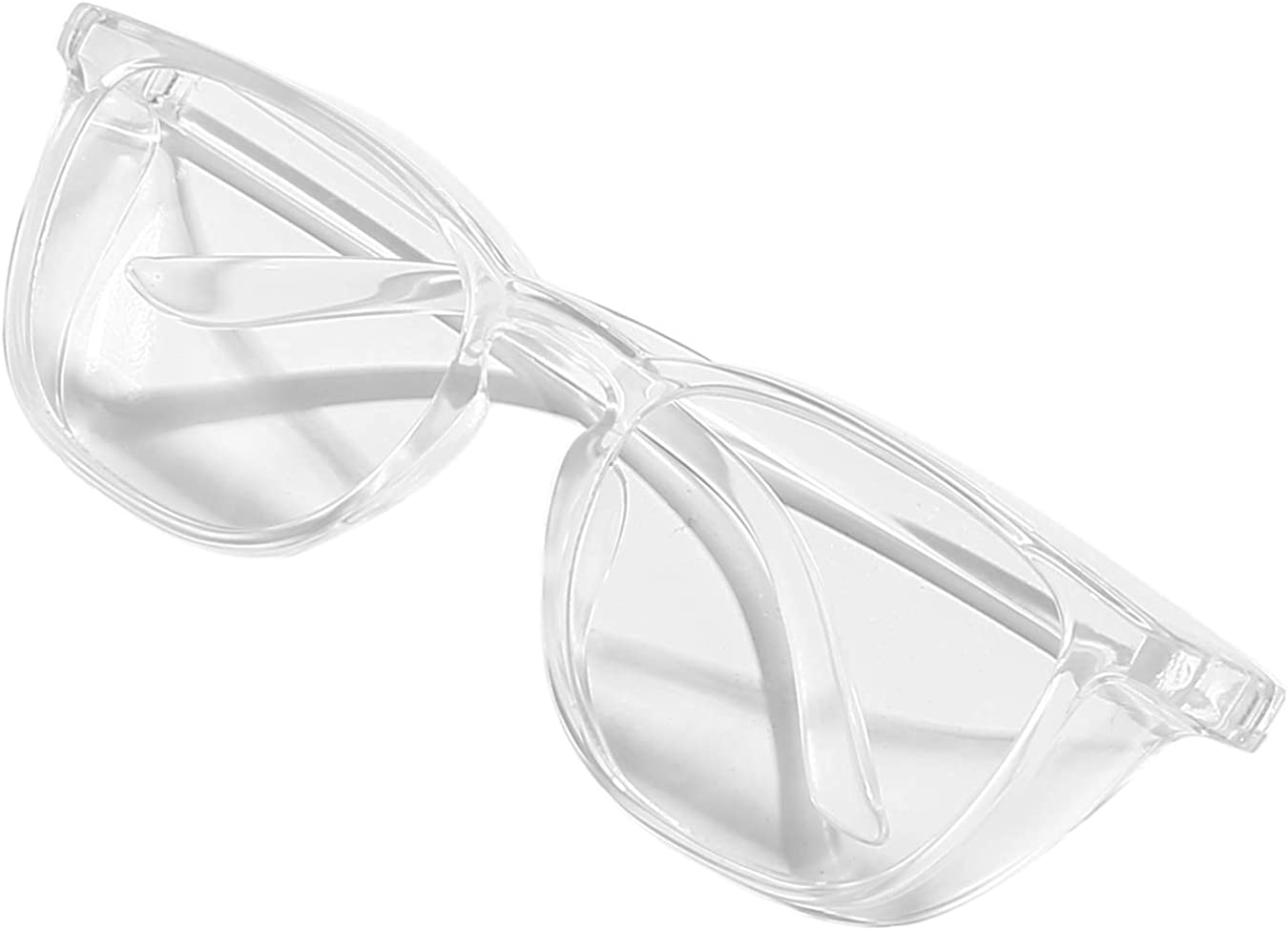 Safety Glasses Anti Fog for Men Womens Blue Light Blocking Eye Protection Goggles with Side Shields