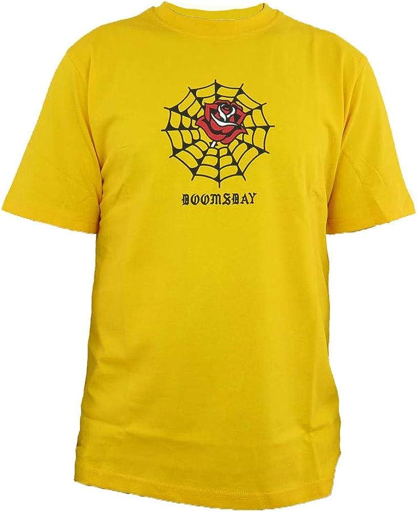 Doomsday - Camiseta para Hombre, Color Amarillo: Amazon.es: Ropa y accesorios